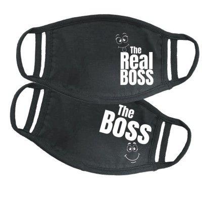 Boss Real Boss páros maszk