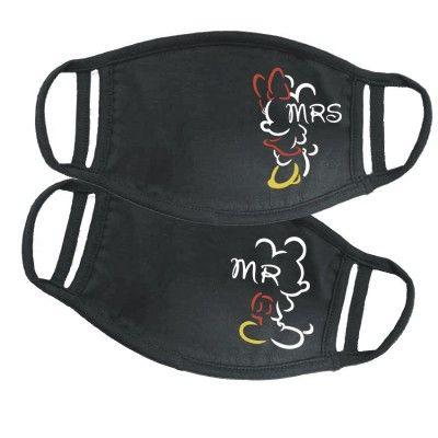 Mr Mrs Mouse páros maszk