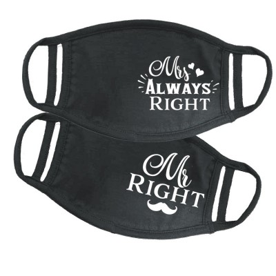 Mr Mrs Right páros maszk