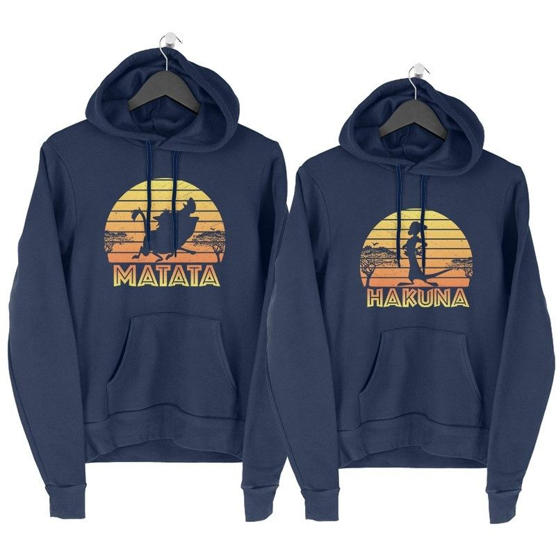Hakuna Matata Páros Pulcsi