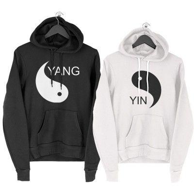 Yin Yang Páros Pulcsi