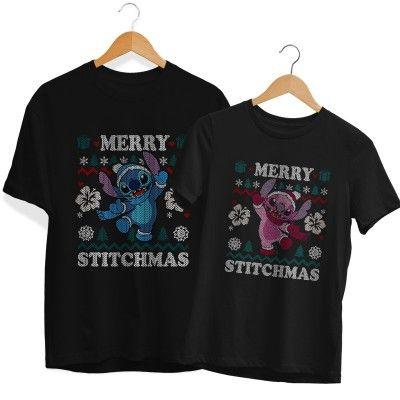 Merry Stitchmas Páros Póló