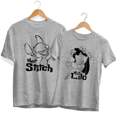His Lilo Her Stitch Páros Póló