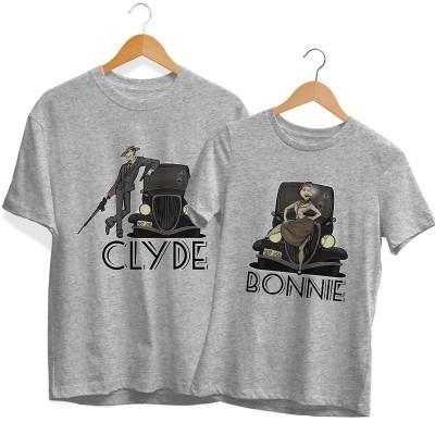 Bonnie & Clyde Páros Póló