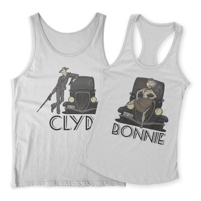 Bonnie & Clyde Páros Trikó