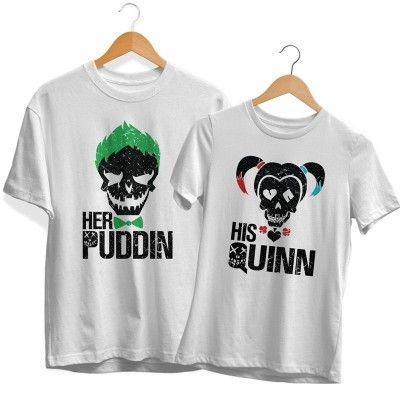 His Quinn Her Puddin Páros Póló