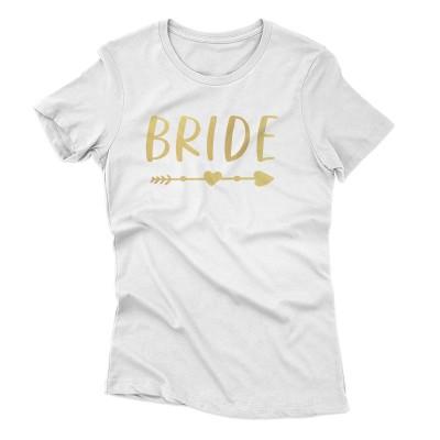 Lánybúcsú Bride Arrow (gold)