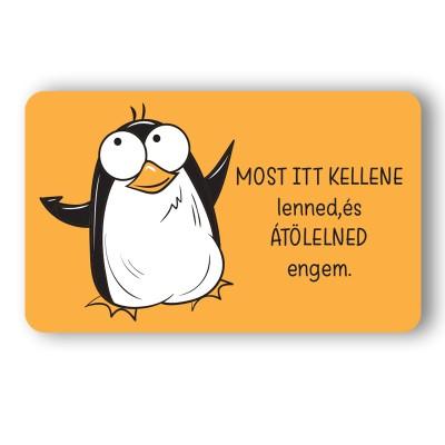 Pingvin ölelés Ajándék kártya