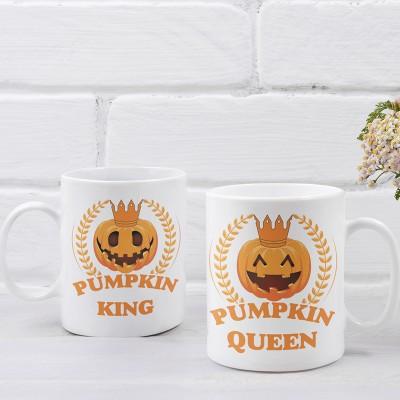 Pumpkin King Queen Páros Bögre