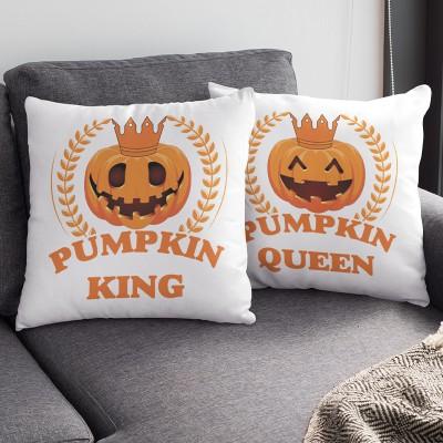 Pumpkin King Queen Páros Párna