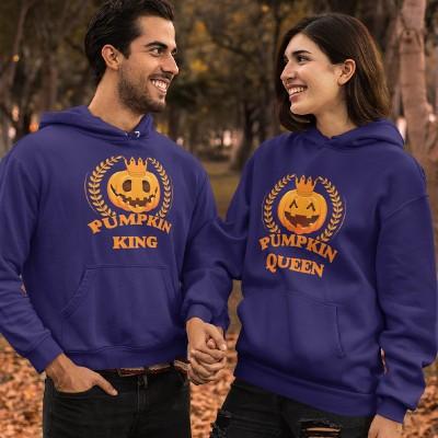 Pumpkin King Queen Páros Pulcsi