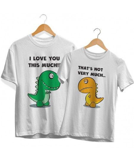T-rex Páros Póló