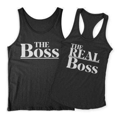 The Boss Real Boss modern Páros Trikó