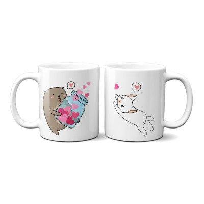 Bear and Cat Páros Bögre