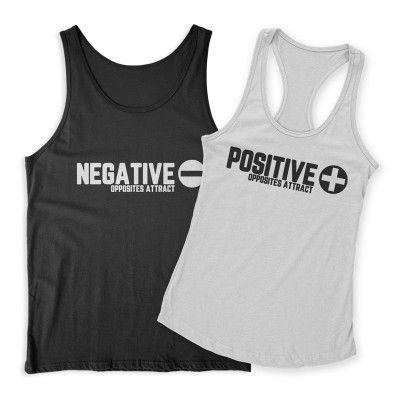 Pozitív Negatív Páros Trikó