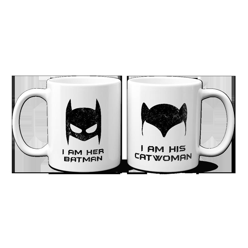 Batman Catwoman Páros Bögre